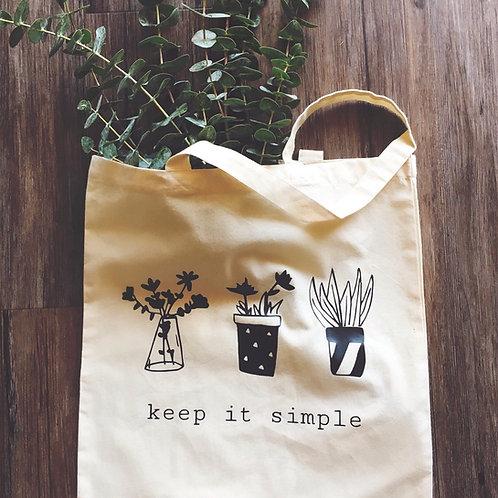 Tote Bag -Keep It Simple