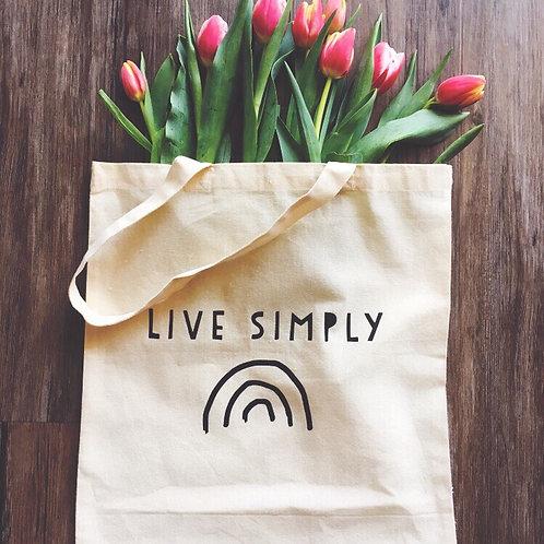 Tote Bag - Live Simply