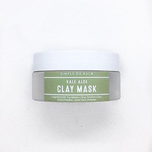 Kale Aloe Clay Mask