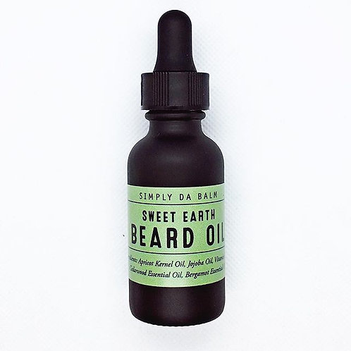 Beard Oil - Sweet Earth