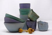 bols, timbales et petites tasses textré