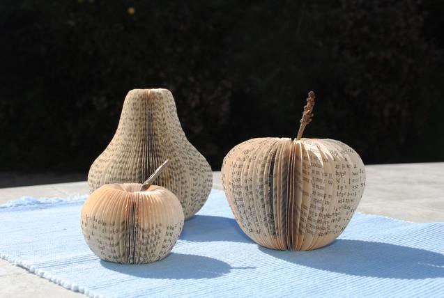 Livre coupé Pommes poire