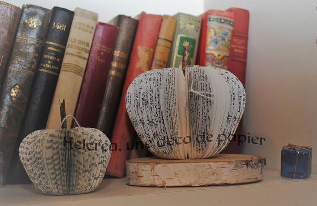 Livre coupé Pommes