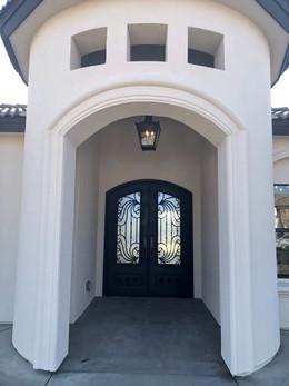 Spanish Revival Entry