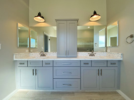 2676 Master Bath with countertop cabinet