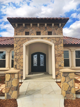 Tuscan Entry