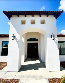 Spanish Revival Entry
