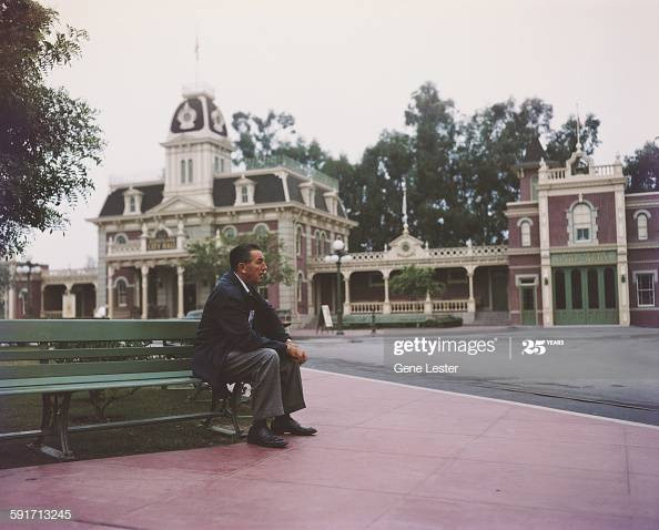 Portrait of American movie producer, artist, and animator Walt Disney