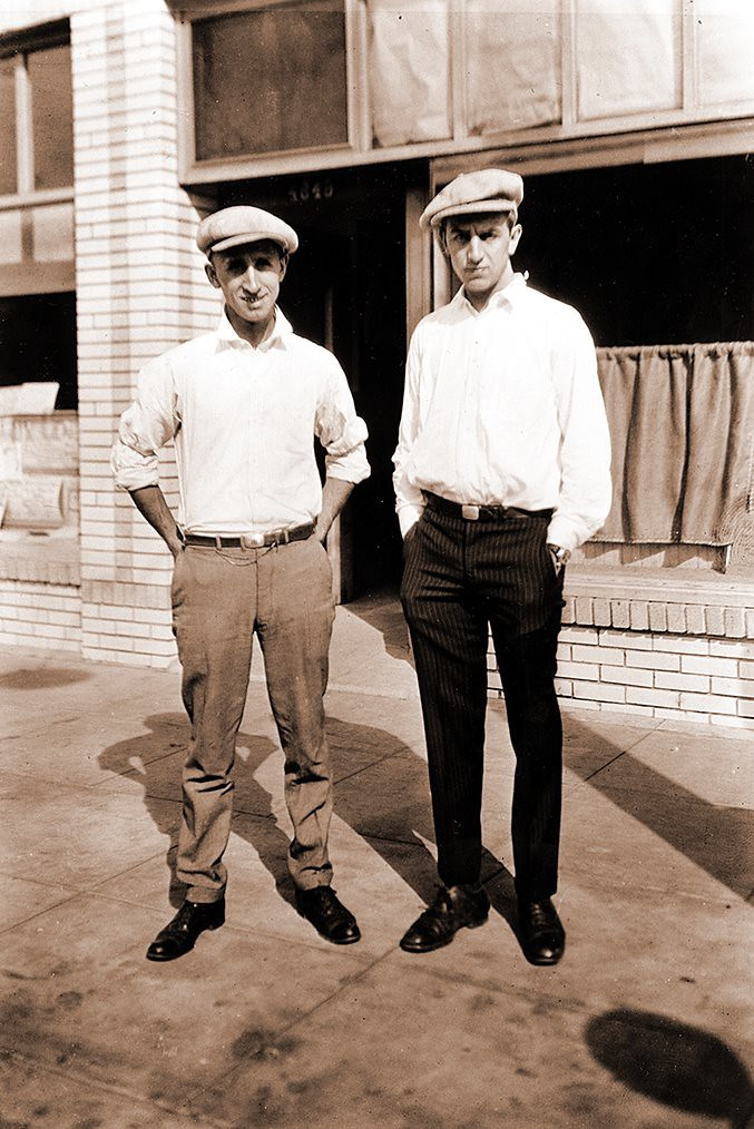 Roy and Walt Disney | Image: Alan Light