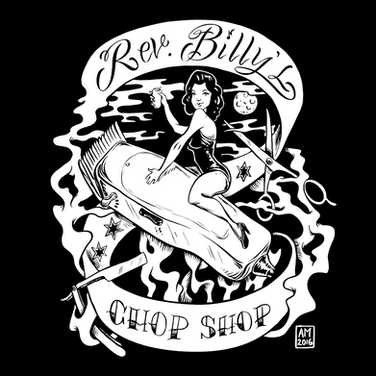 T-SHIRT DESIGNS | REVEREND BILLY'S CHOP SHOP