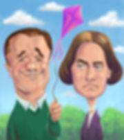 Nathan Lane and Susan B. Anthony
