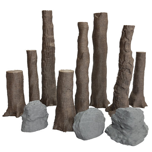 Rosewood Glen Trees Set 3