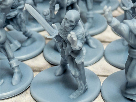 Miniatures - Undead, Elves & Goblins