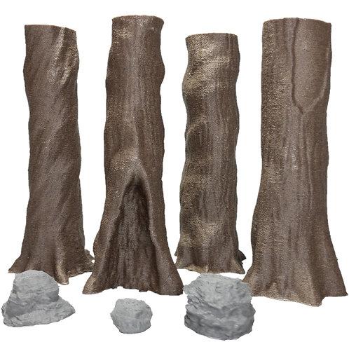 Giant Chestnut Trees Set 1