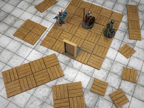 Dungeon Tiles - Wooden Floors