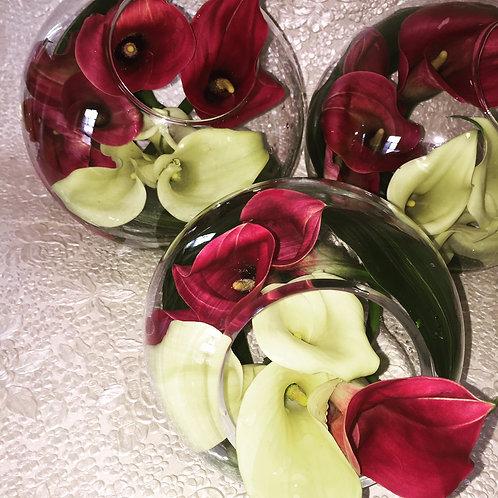 Calla Lily Twist Bouquet