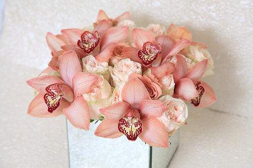 Orchid Mirror Bouquet