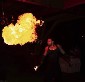 Fachiri Bucuresti   Spectacol cu Foc