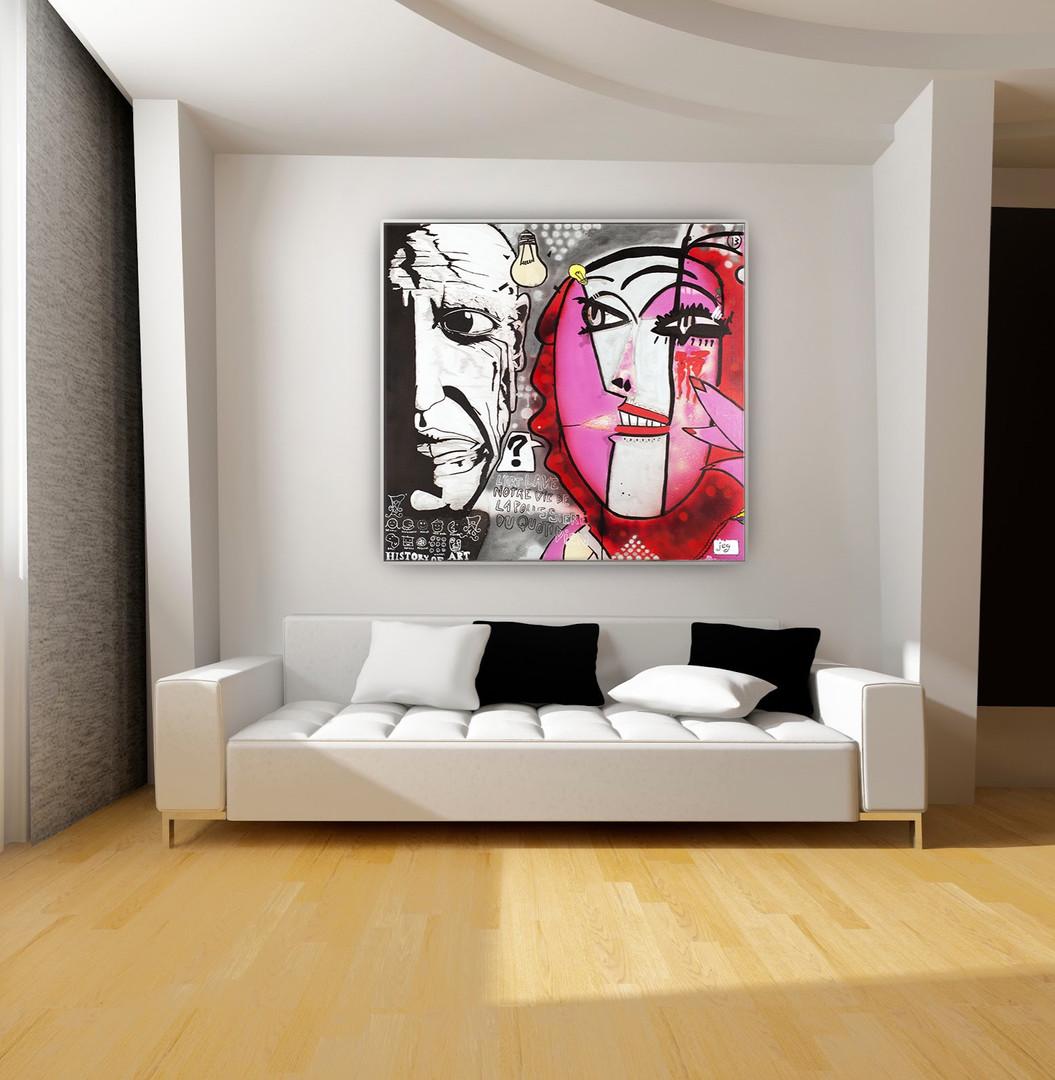 Mise en situation, Pablo Picasso