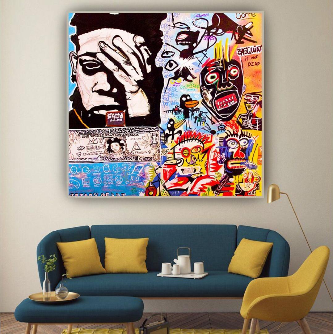 Mise en situation, Jean-Michel Basquiat