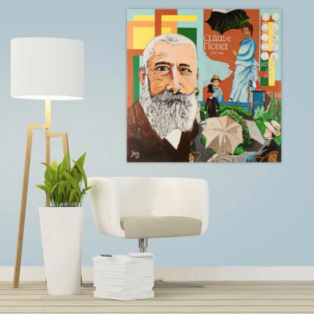 Mise en situation, Claude Monet