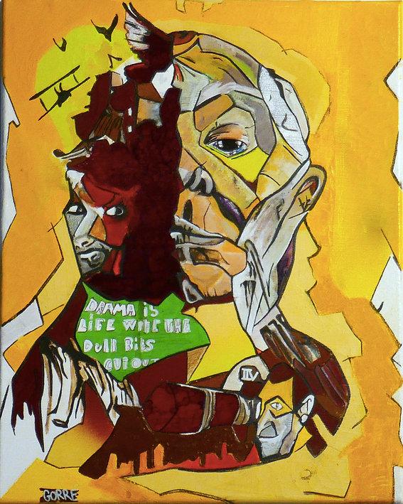 Série, Inspiraton Libre, Peinture, Drama is Life