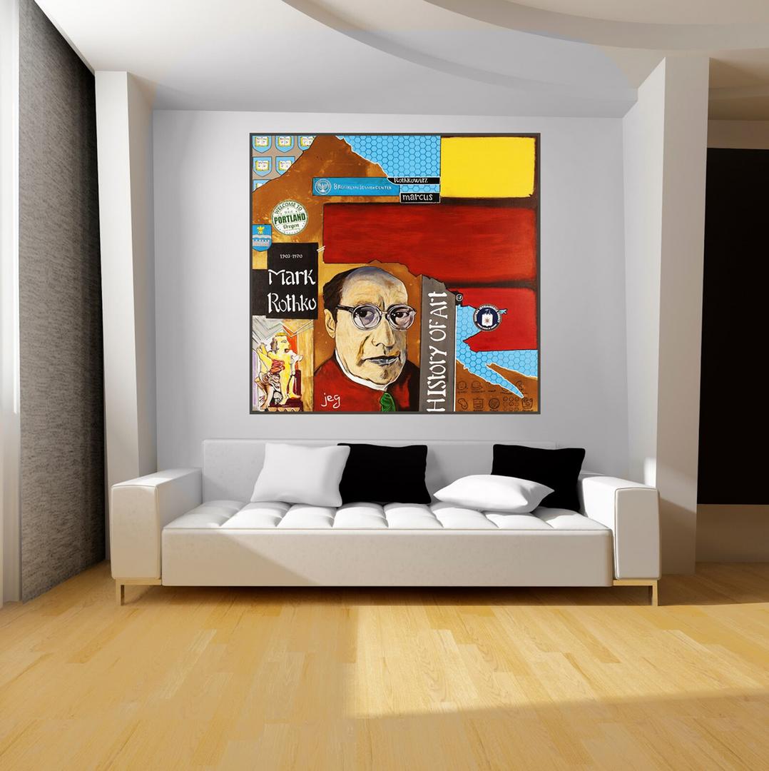 Mise en situation, Mark Rothko