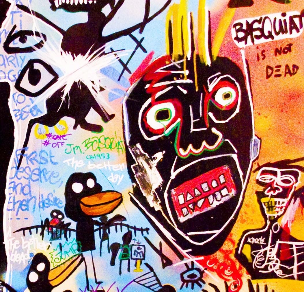 Details, Jean-Michel Basquiat