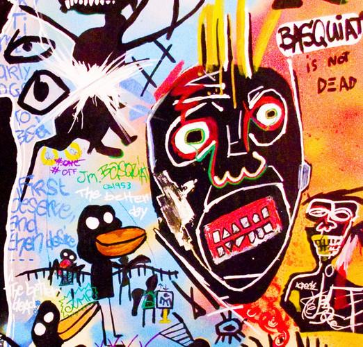 Détails, Jean-Michel Basquiat