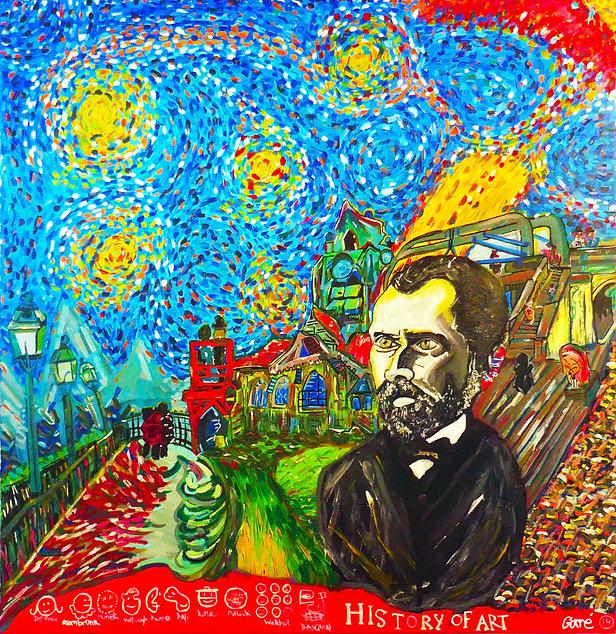 Vincent Van Gogh - History Of Art insta.