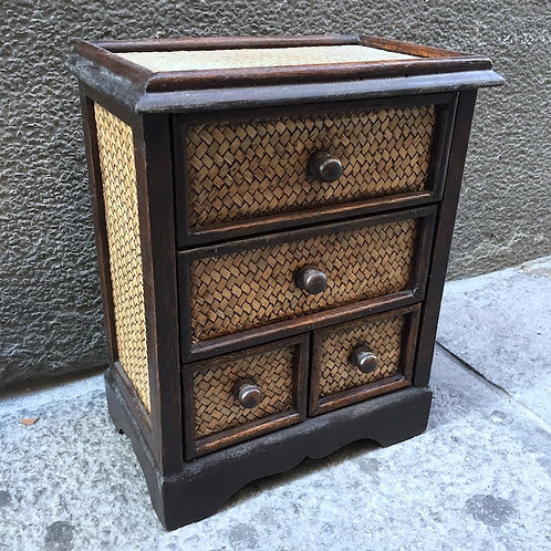 Cube Bamboo Drawer