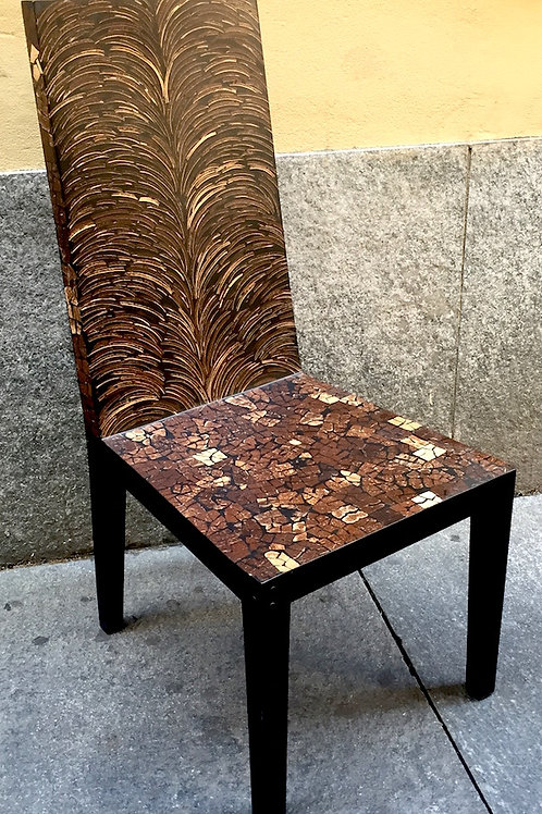 Coconut Mosaic Chair