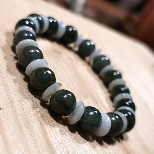 Jade Mala Armlet