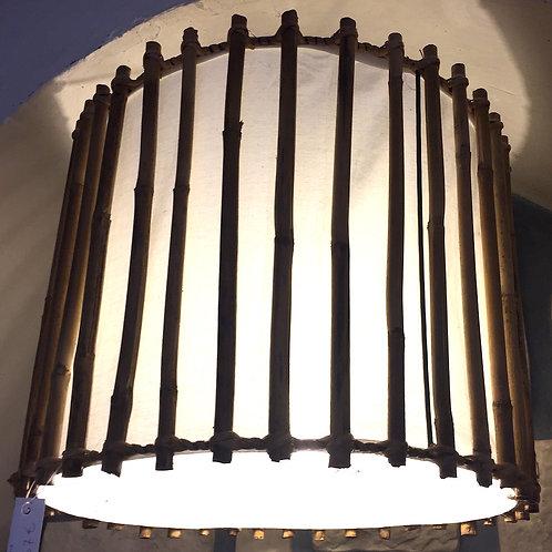 Bamboo Cyl Lamp
