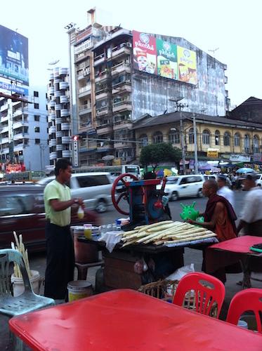 Canna da zucchero - Yangon