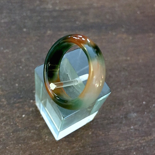 Turtle Glass Ring
