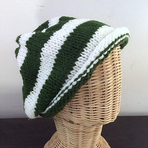 Green Marine Wool Hat