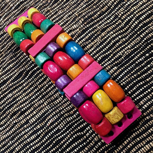 Color Wooden Armlet