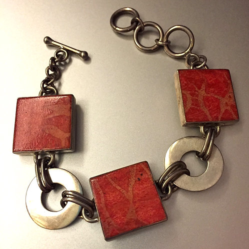 Coral Square Armlet