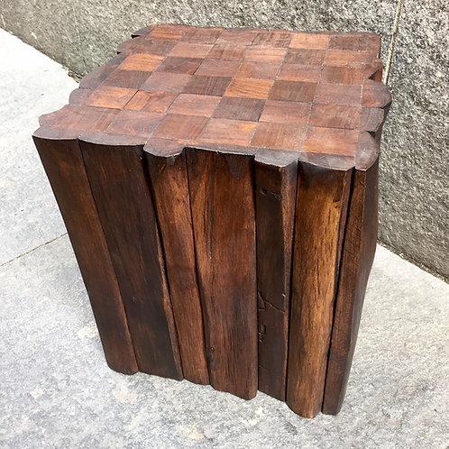 Mosaic Cube Stool