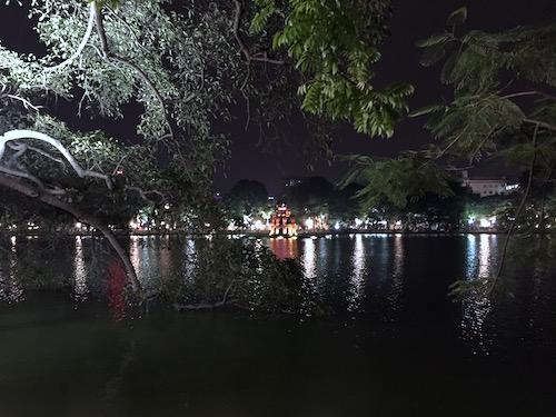 Turtle Tower - Hanoi