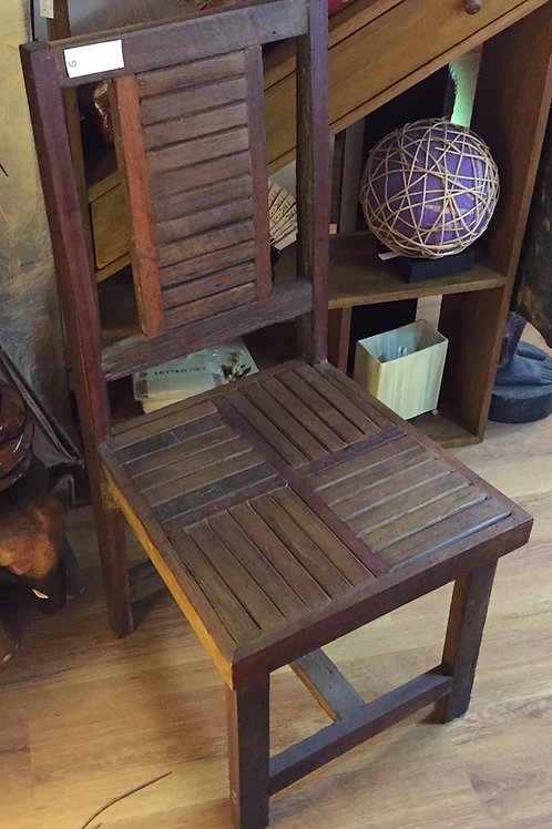 Cross Teak Chair
