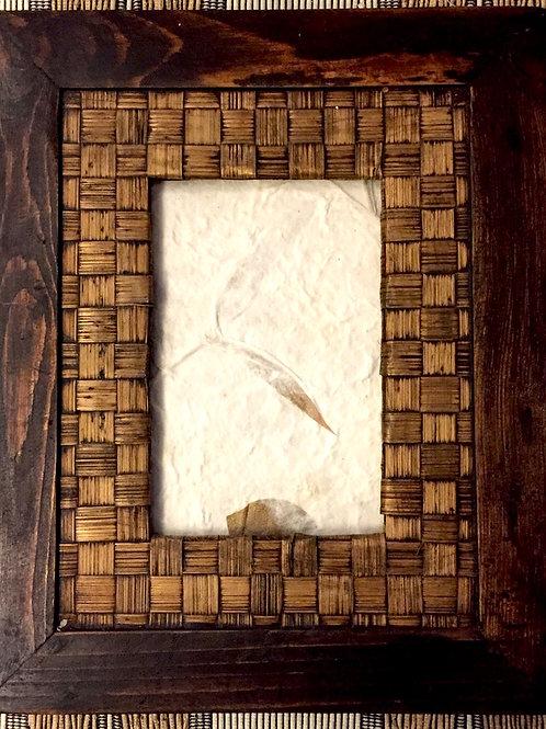 Squared Bamboo Photo Frame