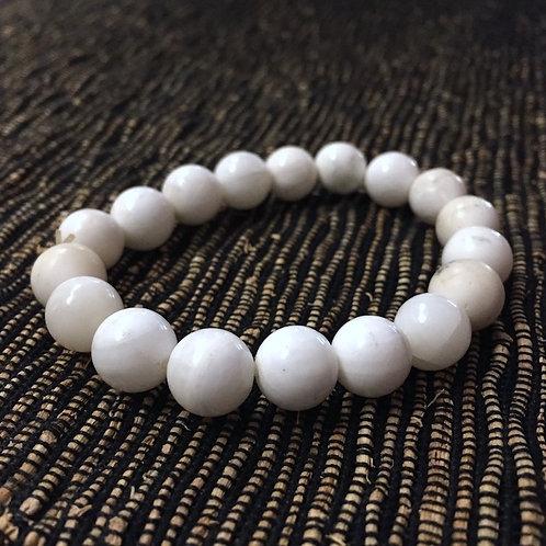 White Agate Armlet