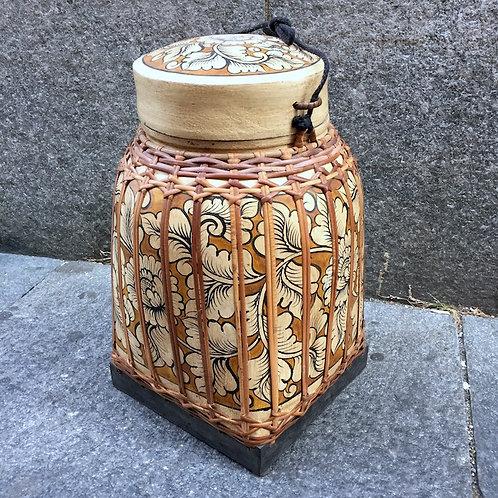 Flower Laqueware Box