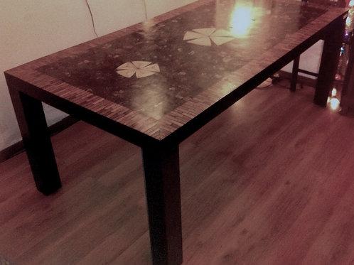Coconut Mosaic Table