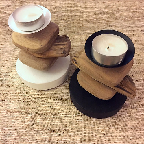 Block Candle Holder S