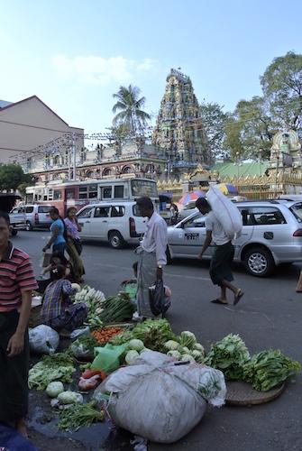 Tempio Hindu - Yangon