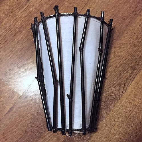 Bamboo Flame Lamp
