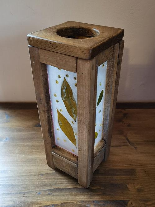Resin Leaver Tower Lamp